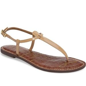 Sam Edelman nude sandals in nude